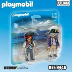 PLAYMOBIL DUO PIRATE-SOLDAT