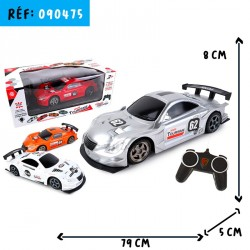 VOITURE GM RC 20CM RADIOCOMMANDEE+eo participation