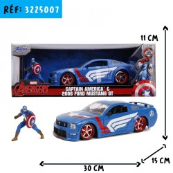 VOITURE GM CAPTAIN AMERICA 1/24e