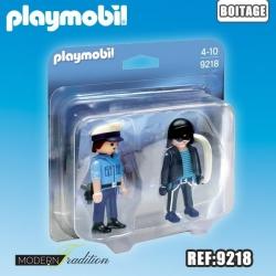 PLAYMOBIL DUO POLICE-VOLEUR
