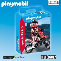PLAYMOBIL PLUS MOTOCROSS***